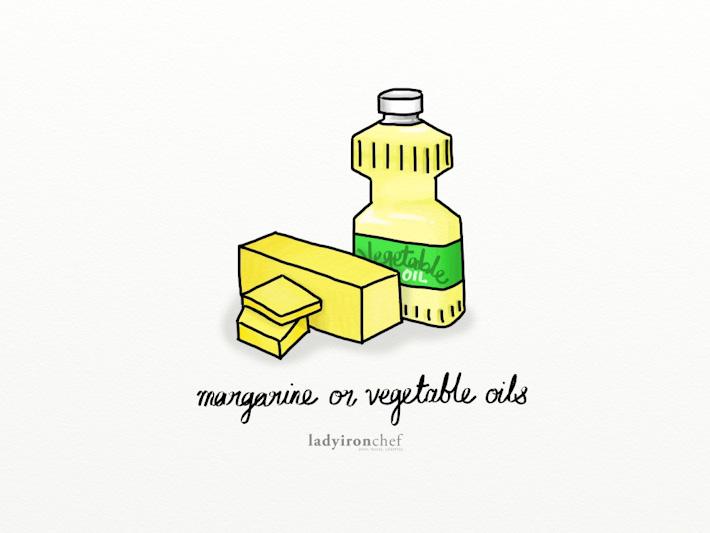 Margarine Vegetable Oils