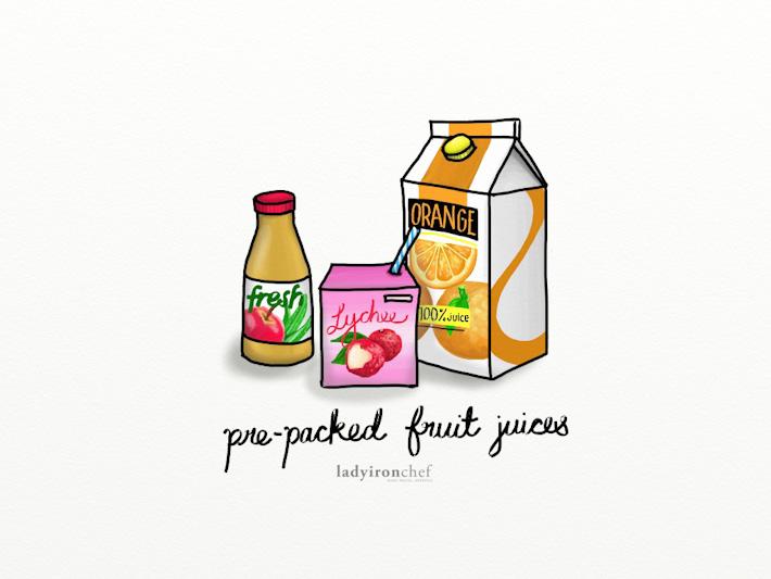 Pre-packed Fruit Juice