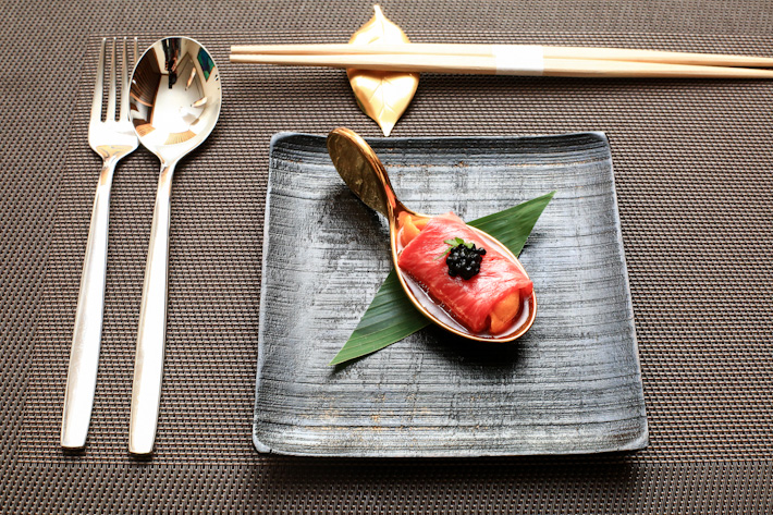 Sea Urchin Wagyu Beef Roll