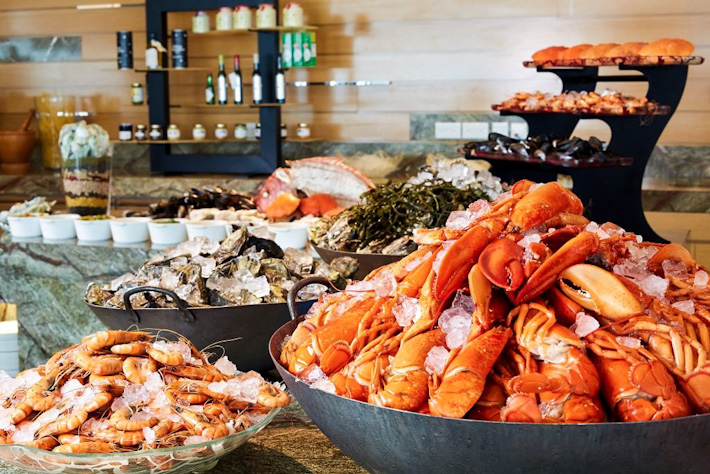 Seasonal Tastes Seafood Buffet