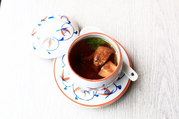 Foie Gras Soup