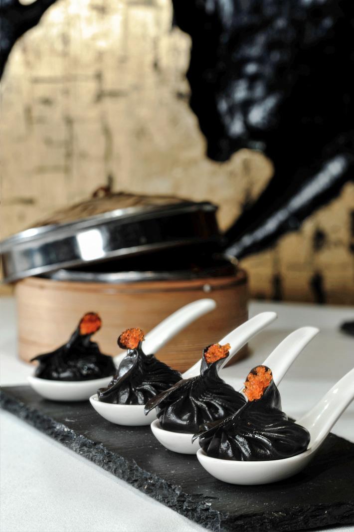 Squid Ink Dumpling