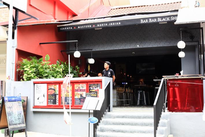 Bar Bar Black Sheep Holland Village