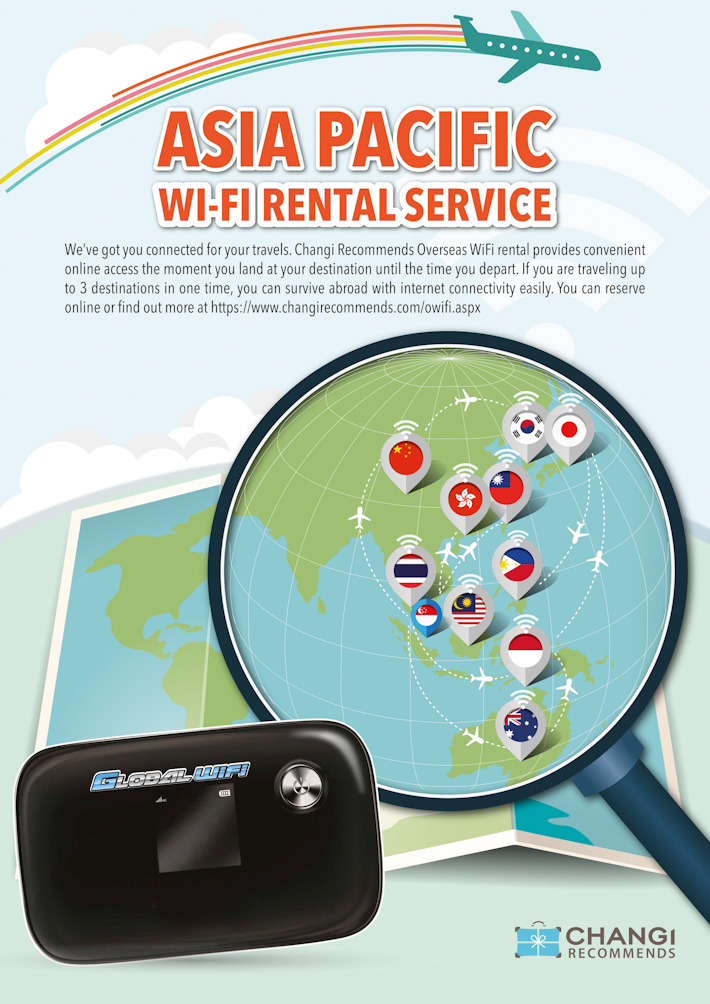 Changi Recommends Wifi Rental