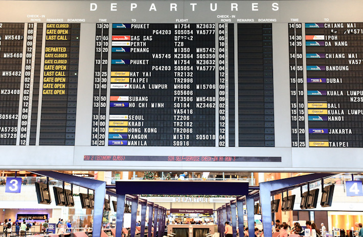 Flight Departure Board
