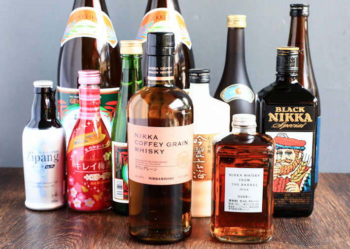 Japanese Sake Whisky