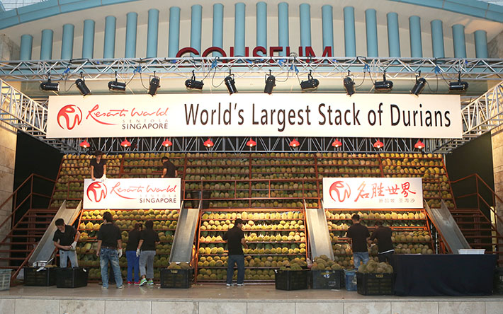 Resorts World Sentosa Durian Fest