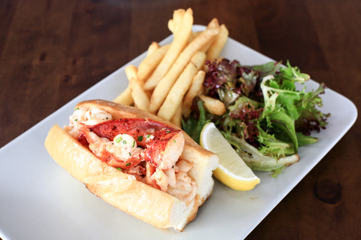 The Naked Finn Lobster Roll