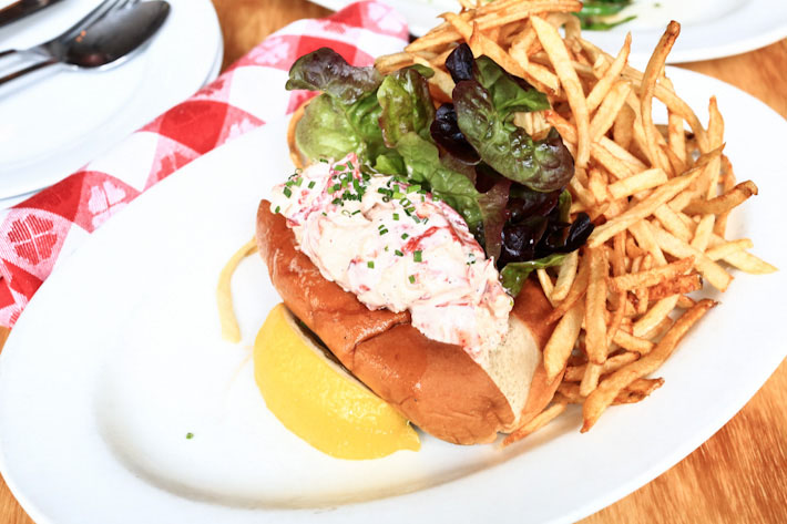Mary's Fish Camp Lobster Roll