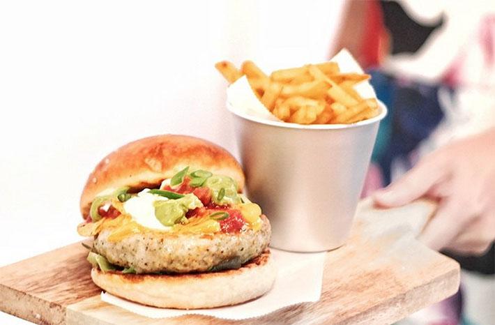Nacho Libre Burger