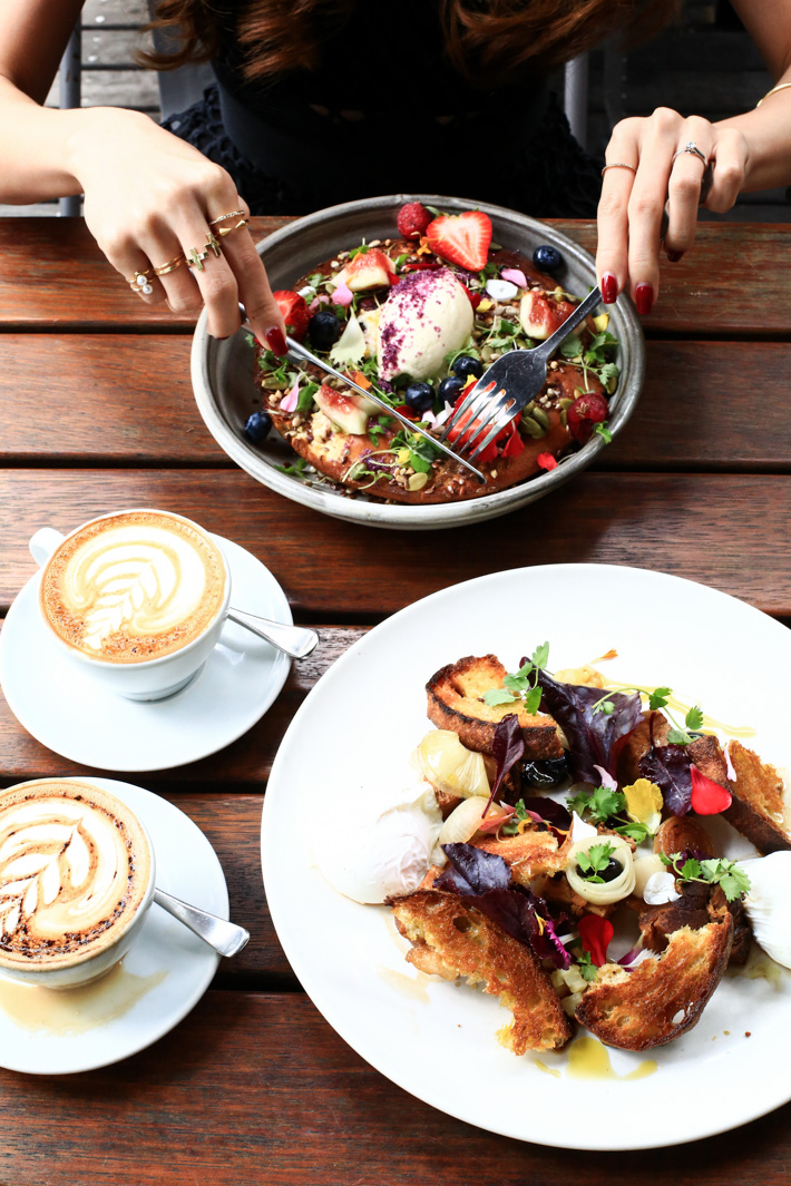 Top Paddock Cafe Ricotta Hotcakes