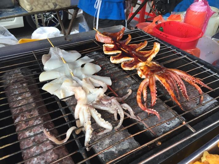 Malaysia BBQ squid