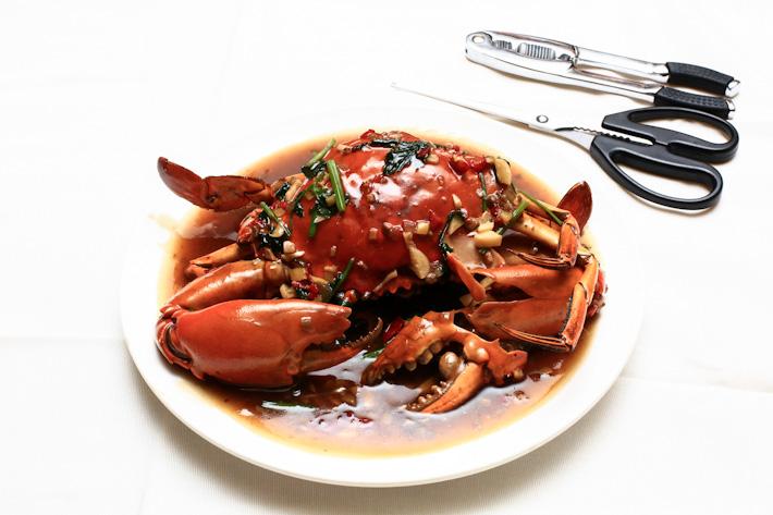 Bean Paste Crab