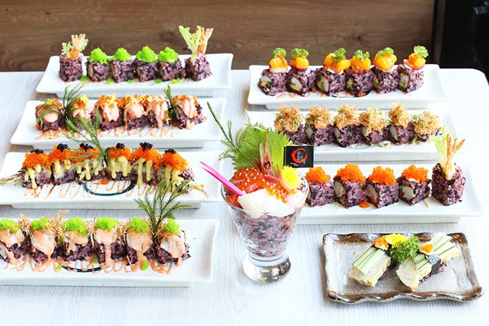Kinsa Sushi Purple Maki