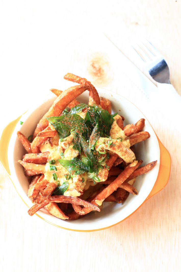 Salted Egg Yolk Potato Fries