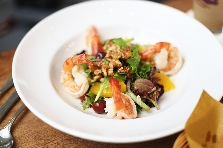 California Shrimp Salad