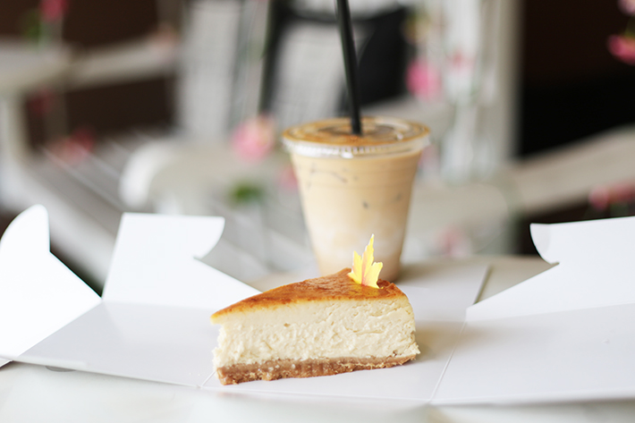 D'Good Maple Cheesecake