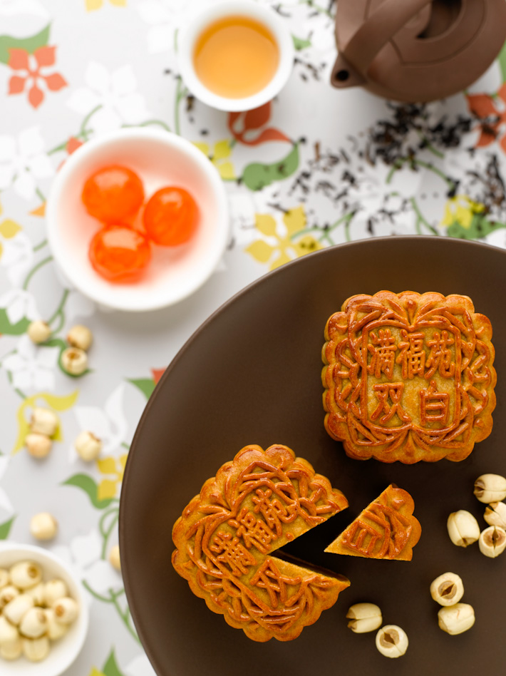 Intercon Baked Mooncakes