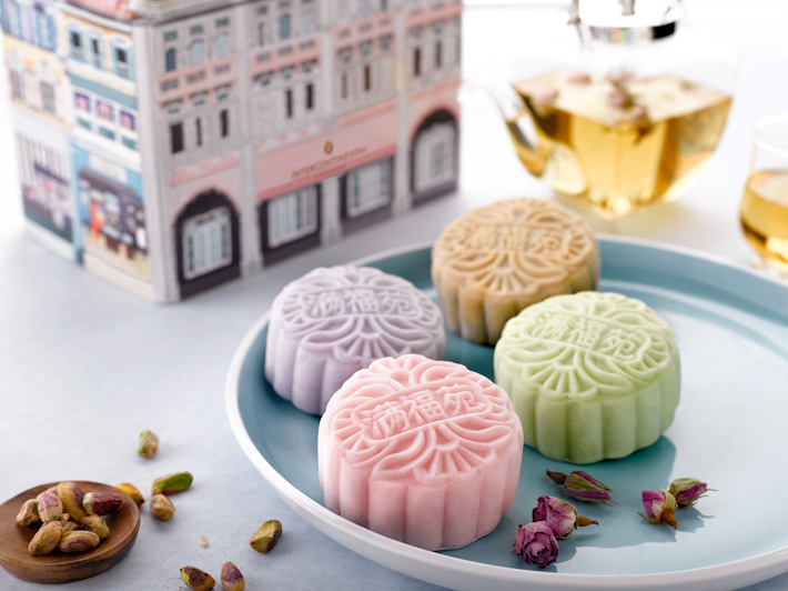 Intercon Snowskin Tea Mooncake