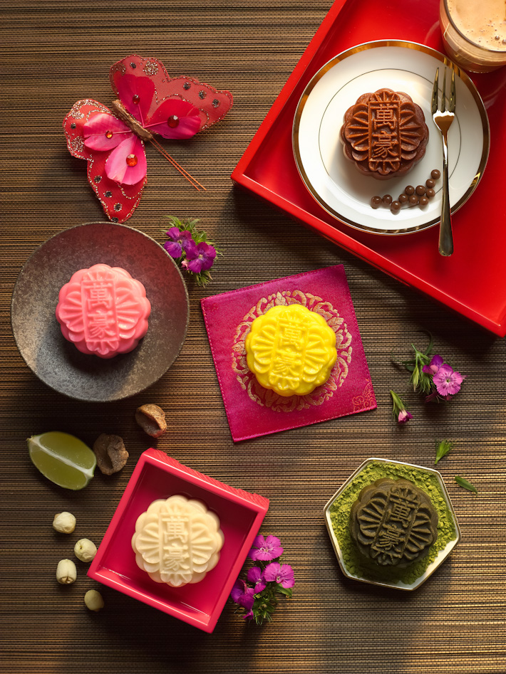 Marriott Singapore Snowskin Mooncake