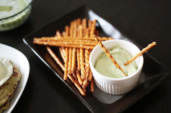Matcha Cream Cheese Dip
