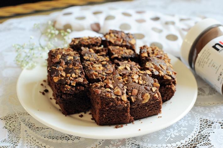 Nutella Brownies 1