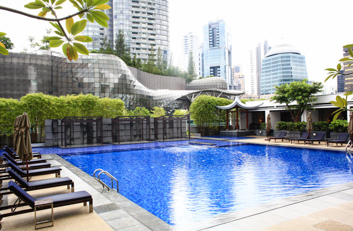 Singapore Marriott Pool