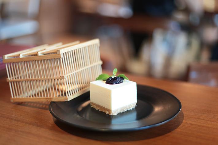 Sun With Moon Tofu Cheesecake