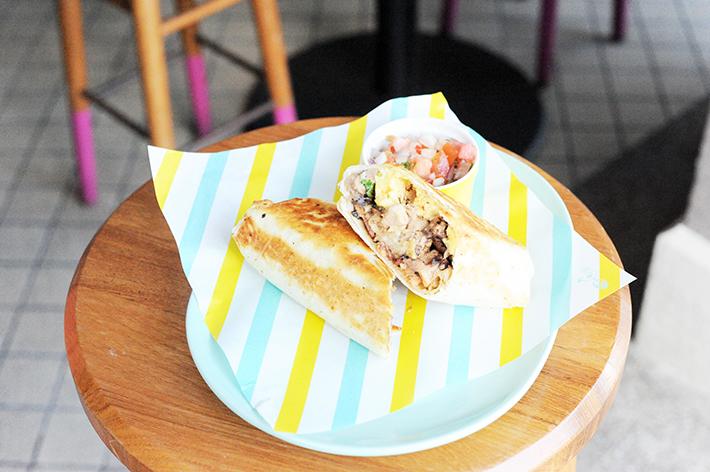 Super Loco Breakfast Burrito