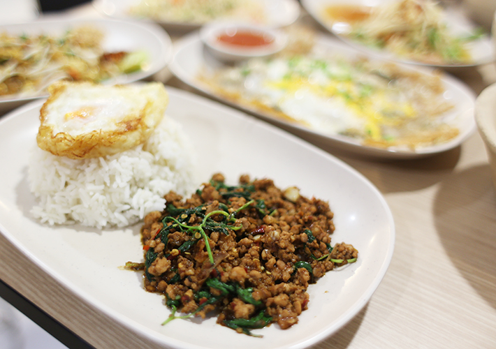 Thai Basil Chicken Rice - MBK
