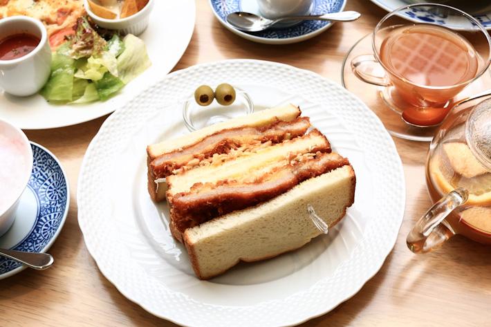 Tonkatsu Toast