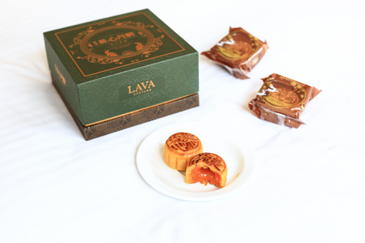 Lava Custard Mooncake