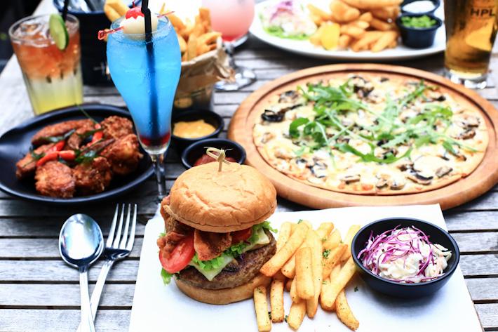 Marina Bay Link Mall Restaurants