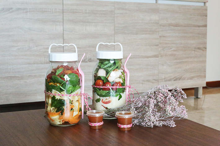 Salad Jar Header