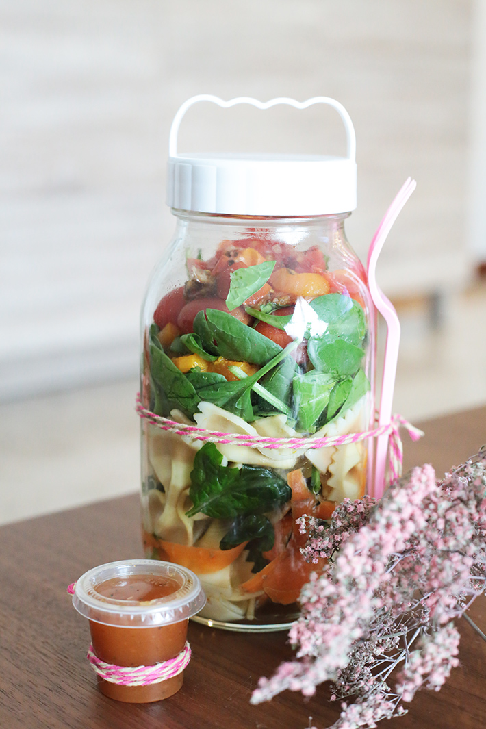 Vegetarian Salad Jar