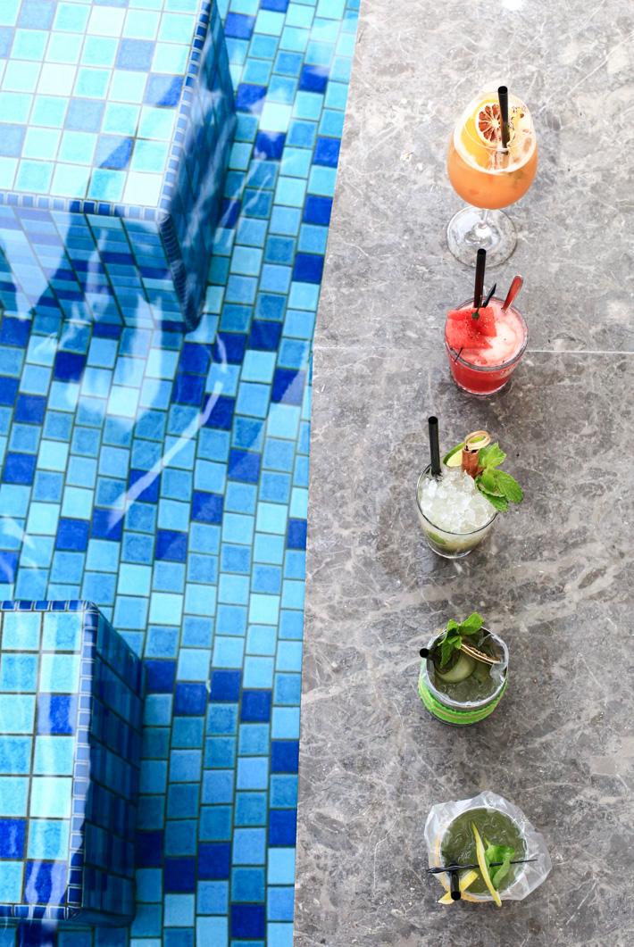 Aqua Luna Cocktails