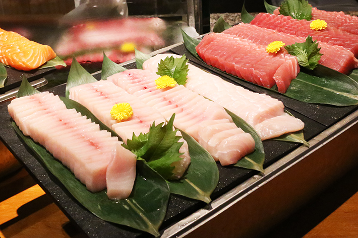 Assorted Sashimi - mezza9