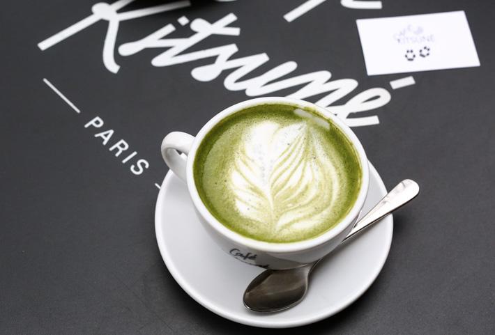 Cafe Kitsune Matcha Latte