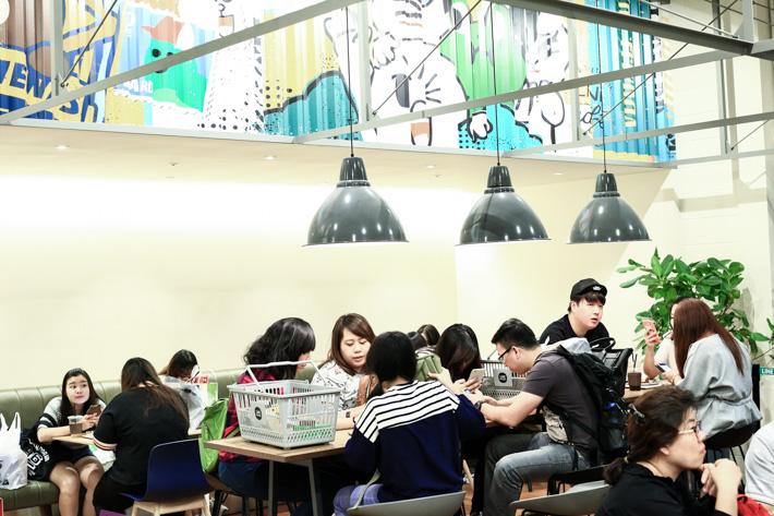 Line Cafe Seoul
