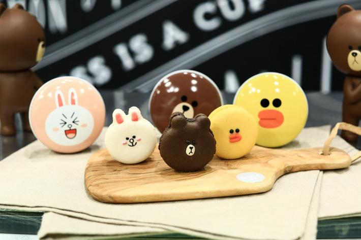 Line Macarons
