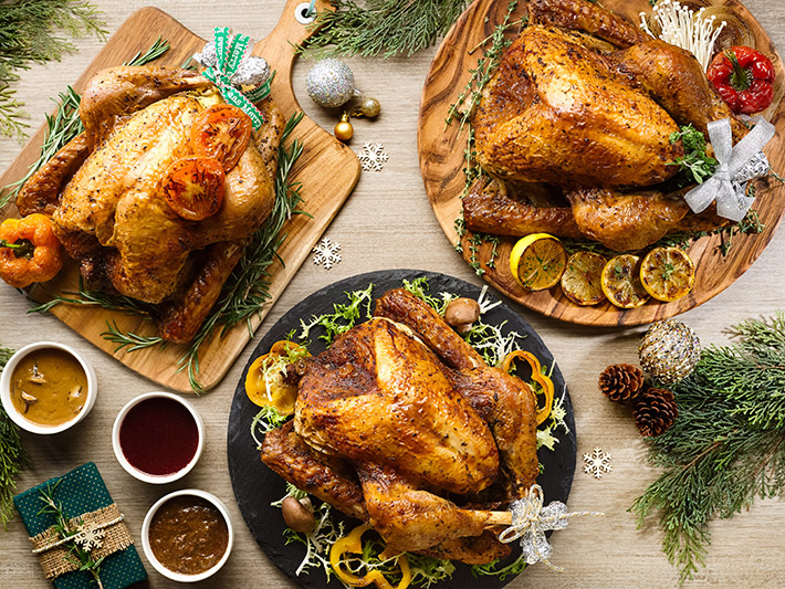 """Stuff of Legends"" Roasted Festive Turkeys"