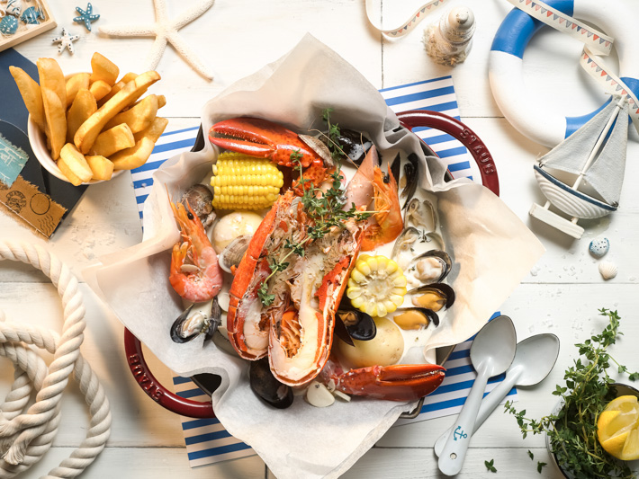 Brizo at Park Hotel Clarke Quay Presents Seafood Dinner Buffet with 20 Over Seafood Dishes