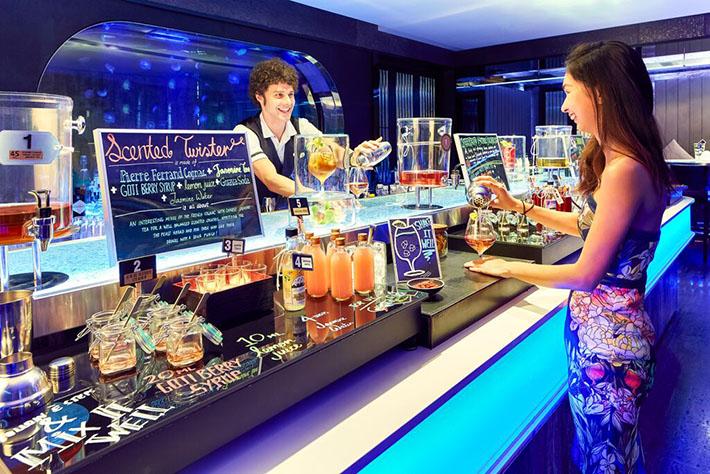 Brunch Cocktail Station