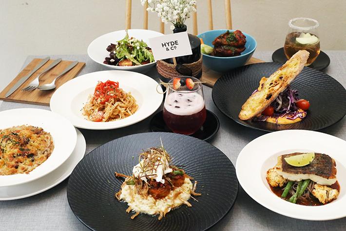 Hyde Co Dinner