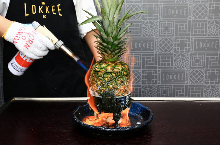 Lokkee Flaming Pineapples