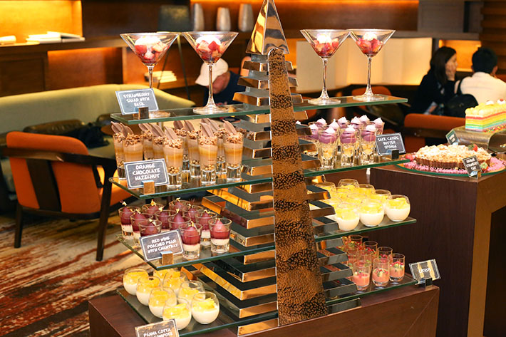 Pre-Made Desserts - Hilton Brunch