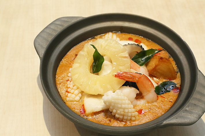 Xin Wang 10 - Seafood Curry