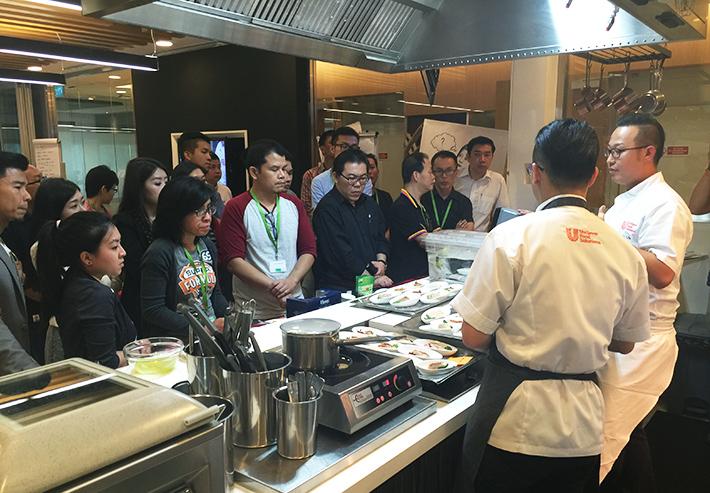 Chefmanship Cooking Demo