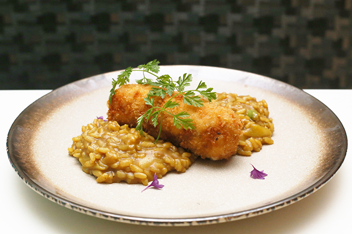 Curry Chicken Risotto - Nouvelle