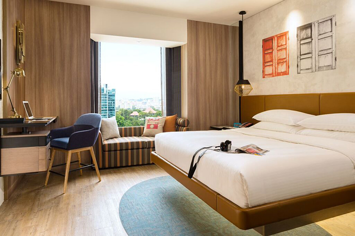 Hotel Jen Singapore Room